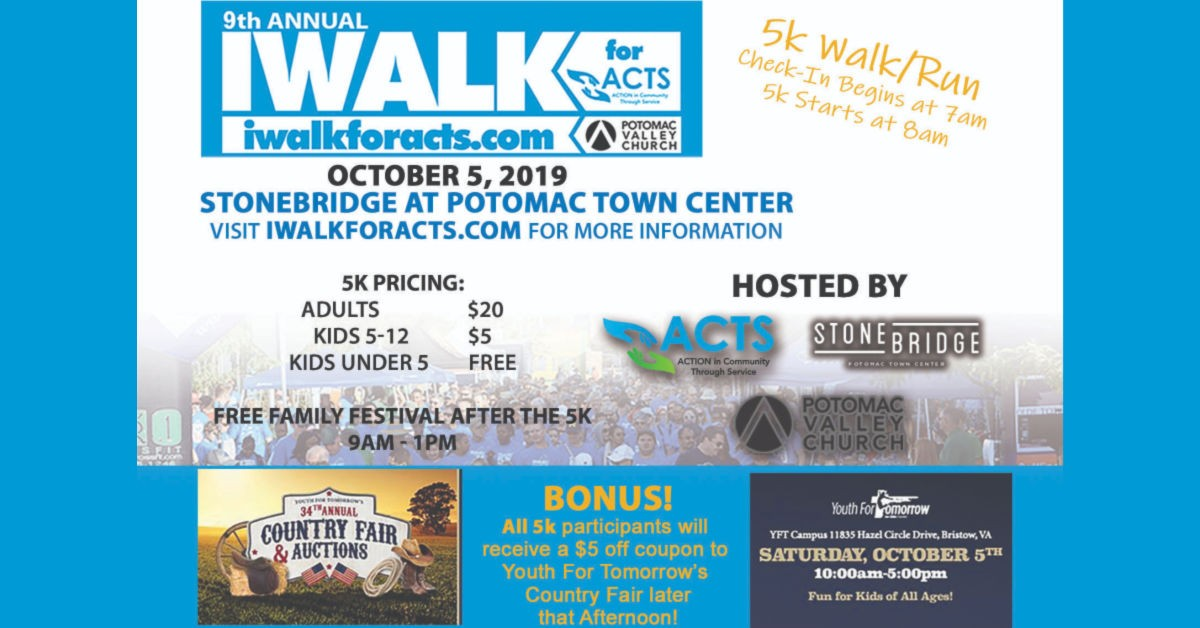 IWALK for ACTS 2019