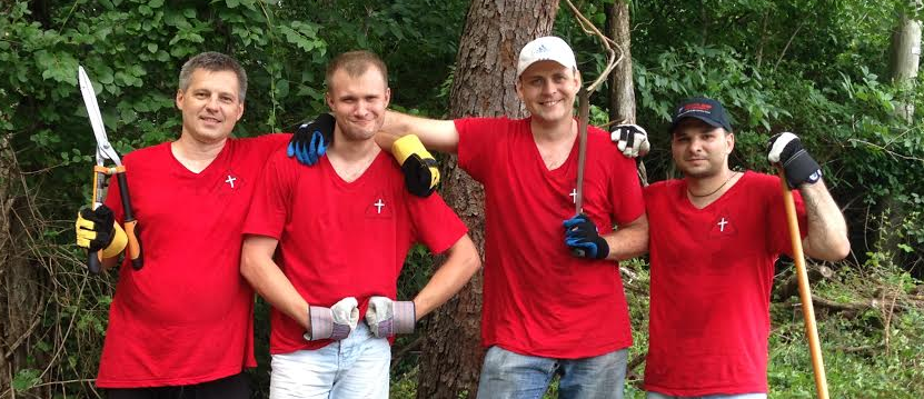 Missionaries from Germany and Russia Lend a Hand for ACTS