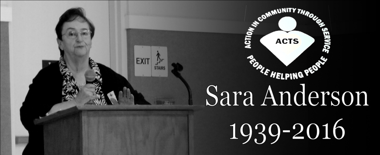 Remembering Sara Anderson