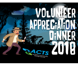 ACTS Celebrates Volunteers with 2018 Appreciation Dinner